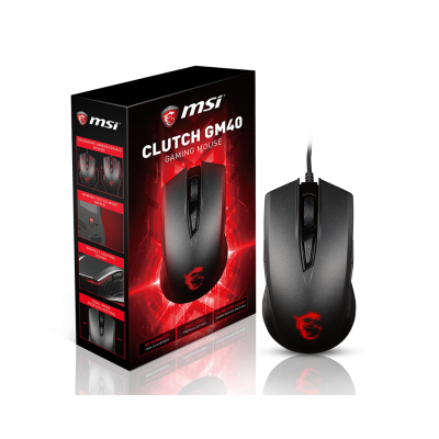 Clutch GM40 Black Gaming Mouse