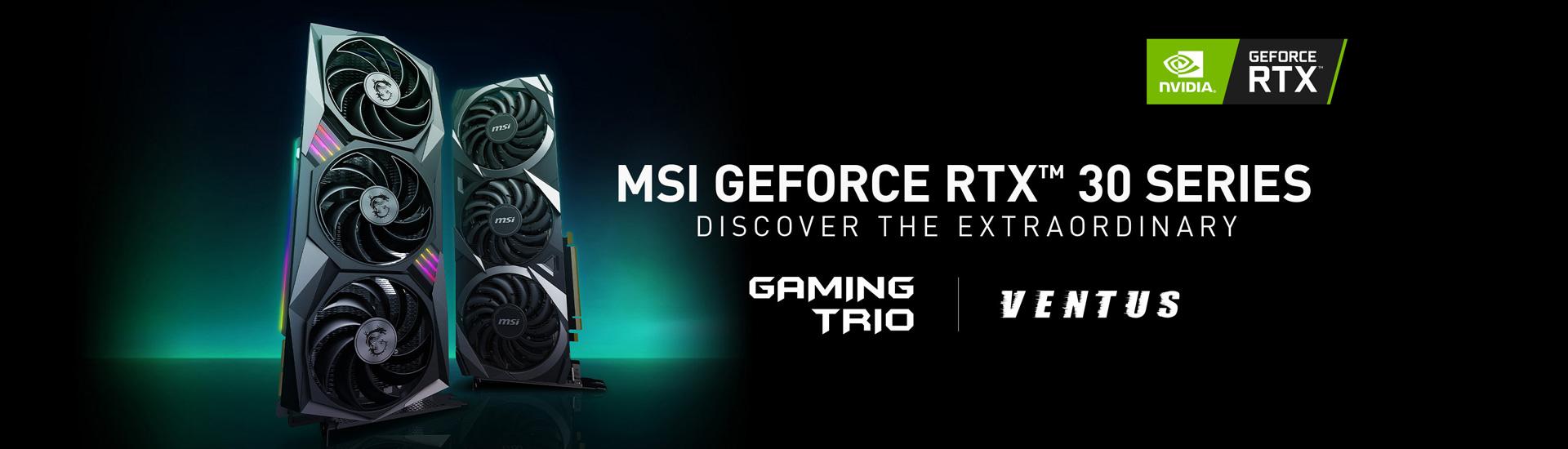 GeForce® RTX 30 Series