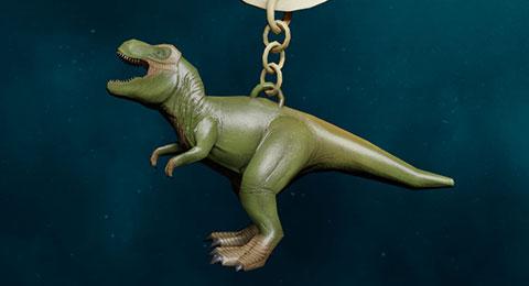 Dinosaur Weapon Charm